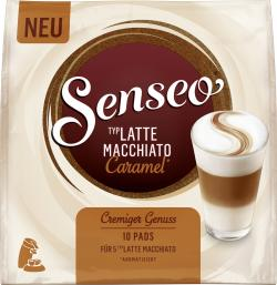 Senseo Pads Latte Macchiato Caramel, 5 Kaffeepads