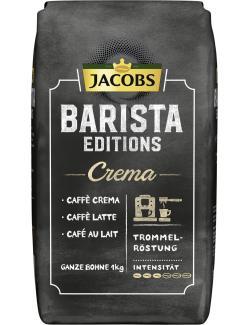 Jacobs Kaffeebohnen Barista Editions Crema