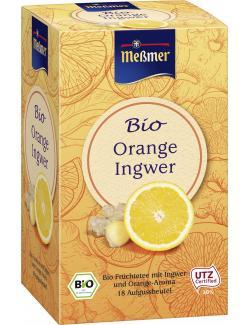 Meßmer Bio Orange Ingwer