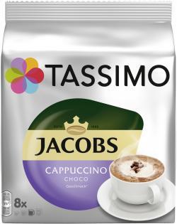 Tassimo Kapseln Jacobs Cappuccino Choco, 8 Kapseln