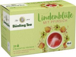 Bünting Tee Bio Lindenblüte Pfirsich