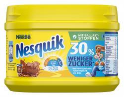 Nestlé Nesquik 30% weniger Zucker