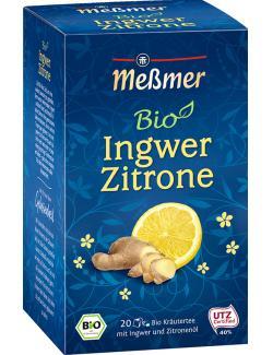Meßmer Bio Ingwer Zitrone