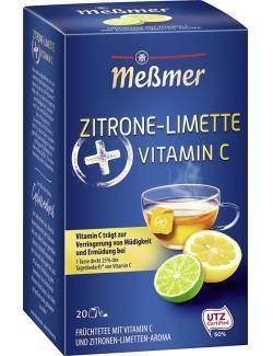 Meßmer Plus Vitamin C Zitrone-Limette
