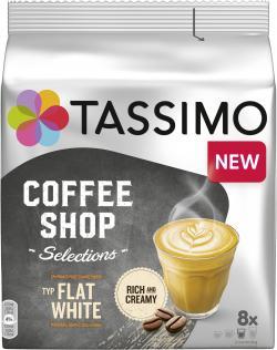 Tassimo Kapseln Coffe Shop Selections Typ Flat White