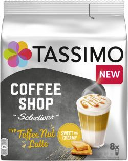 Tassimo Kapseln Coffee Shop Selection Toffee Nut Latte