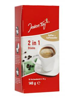 Jeden Tag 2in1 Kaffee Sticks