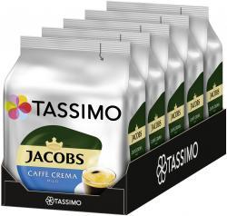 Tassimo Kapseln Jacobs Caffè Crema mild, 5 x 16 Kaffeekapseln