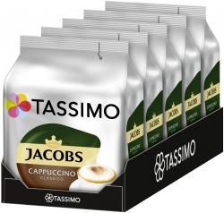 Tassimo Kapseln Jacobs Cappuccino classico, 5 x 8 Kaffeekapseln