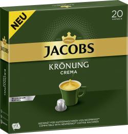 Jacobs Kaffeekapseln Krönung Crema 20 Kapseln