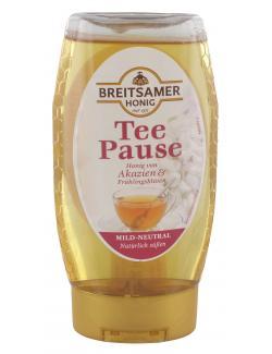 Breitsamer Honig Tee Pause Akazienblüte (350 g) - 4028700035821