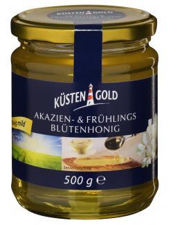 Küstengold Akazien- & Frühlingsblütenhonig (500 g) - 4250426201505