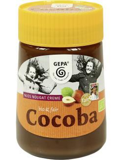 Gepa Bio Cocoba Nuss-Nougat-Creme (400 g) - 4013320093122