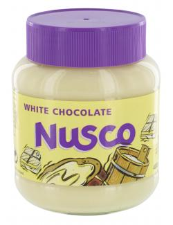 Nusco White Chocolate Schokocreme (400 g) - 8710573541559