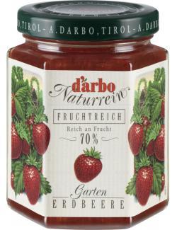 Darbo Naturrein Fruchtreich Garten Erdbeere (200 g) - 9001432029387