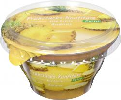 Frühstücks-Konfitüre die Echte Extra Ananas