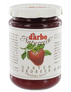 Darbo Naturrein Gartenerdbeer Konfitüre extra (450 g) - 9001432002229