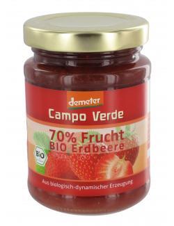 Demeter Campo Verde 70% Frucht Bio Erdbeere (200 g) - 4045178001400