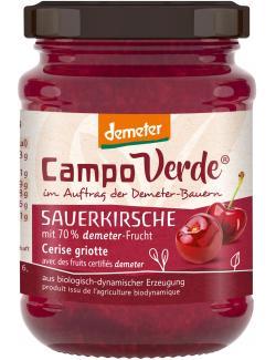 Campo Verde Demeter Fruchtaufstrich Sauerkirsche