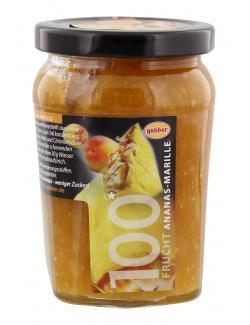 Göbber 100 Frucht Ananas-Marille (310 g) - 4054600751004