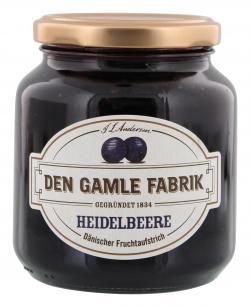 Den Gamle Fabrik Heidelbeer Fruchtaufstrich (380 g) - 5701211012398
