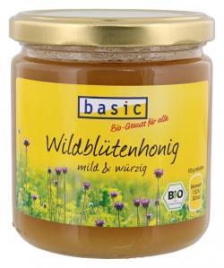 Basic Wildblütenhonig (500 g) - 4032914580787