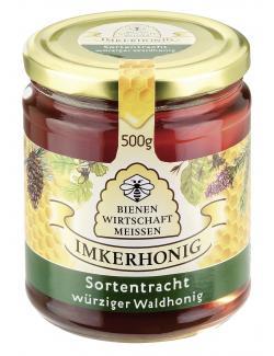 Bienenwirtschaft Meissen würziger Waldhonig (500 g) - 4028712300351
