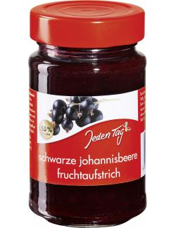 Jeden Tag Fruchtaufstrich Schwarze Johannisbeere (250 g) - 4306188336662