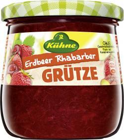 Kühne Rote Grütze Erdbeer Rhabarber