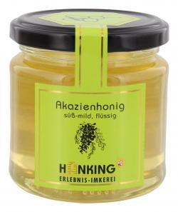 Hanking Akazienhonig süß-mild - 100% deutscher Honig (250 g) - 4260135482539
