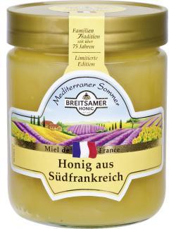 Breitsamer Mediterraner Sommer Honig aus Südfrankreich (500 g) - 4028700010859