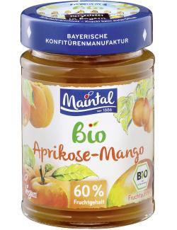 Maintal Bio Aprikose-Mango Fruchtaufstrich (210 g) - 4003740031521