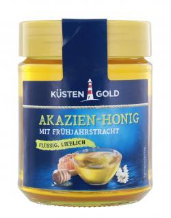 Küstengold Akazien-Honig mit Frühjahrstracht