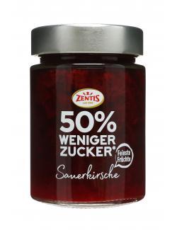 Zentis 50% weniger Zucker Sauerkirsche