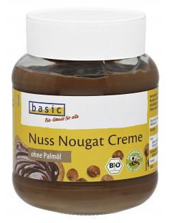 Basic Nuss Nougat Creme ohne Palmöl
