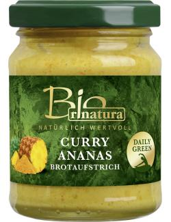 Rinatura Bio Brotaufstrich Curry-Ananas