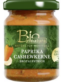 Rinatura Bio Brotaufstrich Paprika-Cashew