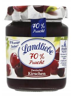 Landliebe 70% Frucht Zweierlei Kirschen