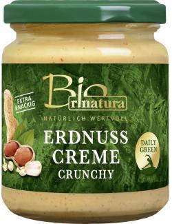 Rinatura Bio Daily Green Erdnusscreme Crunchy