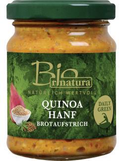 Rinatura Bio Daily Green Brotaufstrich Quinoa Hanf