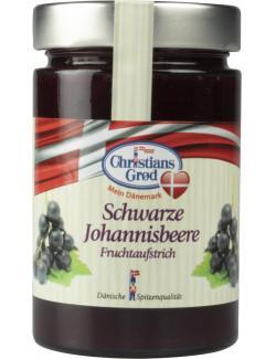 Christians Grød Fruchtaufstrich Schwarze Johannisbeere