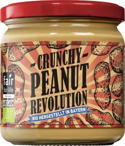 Crunchy Peanut Revolution