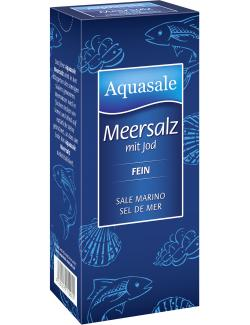Aquasale Meersalz mit Jod fein