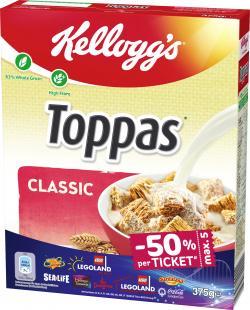 Kellogg's Toppas (375 g) - 4003994155486