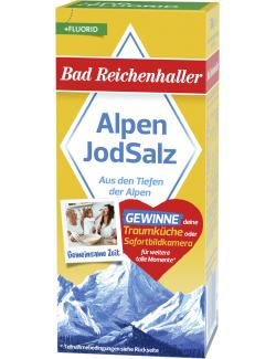 Bad Reichenhaller Jodsalz mit Fluorid (500 g) - 4001475104602