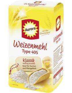 Aurora Sonnenstern Weizenmehl Type 405 (1 kg) - 4000406072300