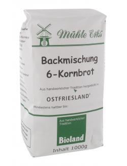 Mühle Erks Bioland 6-Kornbrot (1 kg) - 4038269001960