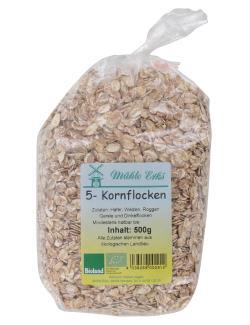 Mühle Erks Bioland 5-Kornflocken