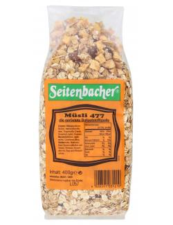 Seitenbacher Müsli 477 die geröstete Ballaststoffquelle (400 g) - 4008391031210