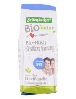 Seitenbacher Bio-Müsli 545 Frühstücks Mischung (500 g) - 4008391003545